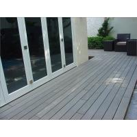 China Balcony WPC Composite Decks and Veranda Coextruding Decking wholesale