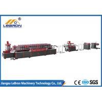 China 10m/min Strut Channel Roll Forming Machine , Mobile Roll Forming Machine φ80mm Shaft wholesale