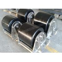 China Pontoons Marine Rubber Fender Dock Roller Bumpers With Stainless Steel Frame on sale