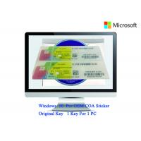 China Authentic Windows 10 Product Key 32bit/64bit Operating Systems COA X20 Full Version Software wholesale