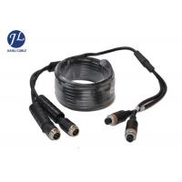China Waterproof Car Side View A/V System 4PIN Aviation Cable Male To Female wholesale
