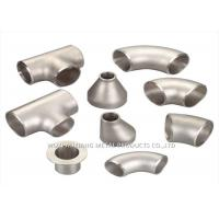China 316L Stainless Steel Sanitary Fittings / 304 Stainless Steel Tee Forged wholesale