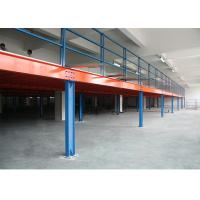 China Customized Steel Industrial Mezzanine Floors In Stacking Racks & Shelves wholesale