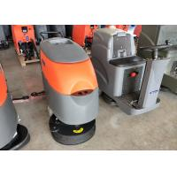 China Dycon Hand Push Battery Powered Floor Scrubber With Two Cup Seat For Factory wholesale