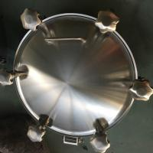 China Sanitary Stainless Steel Inwards Opening Elliptical Manways Manlids wholesale