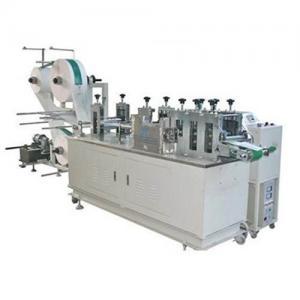 China Efficient Mask Making Equipment , Disposable Mask Machine Semi Automatic System wholesale
