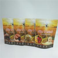China Heat Seal Food Zip Pouch Spice Aluminum Foil Bags Custom Printed Sunflower Seeds Doy Pack wholesale