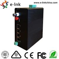 Buy cheap Industrial Video Ethernet Switch: 4 10 / 100M Ethernet + 1 Video + 1RS485 Data + 1Gigabit Fiber from wholesalers