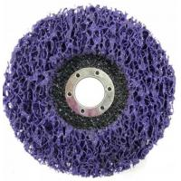 China Purple Strip and Clean Disc Abrasive Blaze type 27, type29 Grit Center Mount Plastic Flat Flap Disc on sale