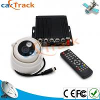 China Car GPS Mobile DVR With 2CH SD Card Slot And 4CH Camera 1CH AVout wholesale