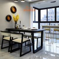 Buy cheap Yellow PU Leather Wooden Frame Restaurant Comfortable Dining Room Chairs from wholesalers