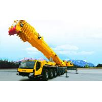 China High Efficiency Yellow 50T Truck Mounted Crane For Construction Projet wholesale