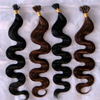 China best quality hot selling indian remy u tip hair extension on sale