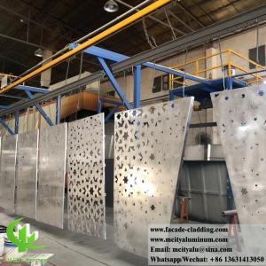 China External Powder Coated Metal Aluminium Facade With Perforation Design 3mm Akzo Nobel wholesale