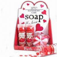 China Bath Gift Set with Lotion and Fragrance, Suitable for Personal or Promotional Gift wholesale