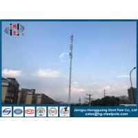 China ISO Hot Dip Galvanized Telecommunication Towers 2.3-18mm Wall Thickness wholesale