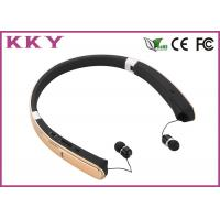China Wireless Neckband Headphones with 18 Hours Play Time for Cellular Mobile Phone wholesale
