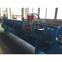 China Carbon Steel , GI Rack Roll Forming Machine Angle Size 65mm Shaft Dia wholesale