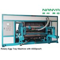 China Automatic Rotary Egg Tray / Egg Carton Making Machine High Output Pulp Molded wholesale