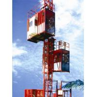 China Customized Color Construction Material Hoists , Construction Elevator With 36m / Min To 96m / Min Speed wholesale