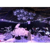 China Wedding Party Decoration Double Layer Inflatable Mirror Ball wholesale