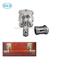 China H057 Nice quality Australia style handle for coffin metal coffin handles china  manufacturer wholesale