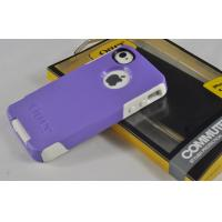 China TPU Purple Outer Box Cases Waterproof Iphone 4s For Women Viola on sale