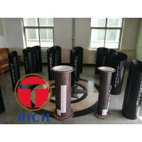 China Api 5ct Ms Round Seamless Welded Pipe , Erw Casing Q235 Mechanical Steel Tubing on sale