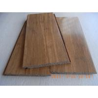 China Carbonized Strand Woven Bamboo Flooring, Click lock wholesale