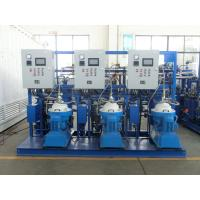 China 3000 - 9000 L/H PLC Centrifugal Lubricating Oil Purifier Separator Variable Discharging Type on sale