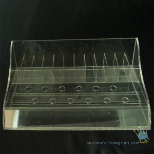 China clear plastic bead storage box wholesale