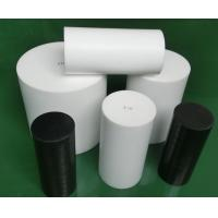 China Natural White Virgin Molded PTFE Rod Self Lubricating With High Performance wholesale