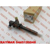 Buy cheap BOSCH Common rail fuel injector 0445120048, 107755-0161 for MITSUBISHI 4M50 ME226718, ME222914, ME223749 from wholesalers