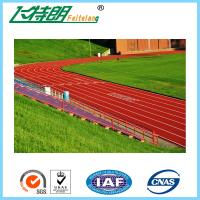 Outdoor Sports Jogging Track Material Rubber Tracks Self - knot Pattern