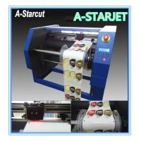 China Adhesive Digital Label Cutter Roll To Roll , Automatic High Efficiency wholesale