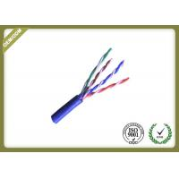 China Pure Copper Cat5e UTP Cable For Network ,  24awg Unshielded Twisted Pair Cable wholesale