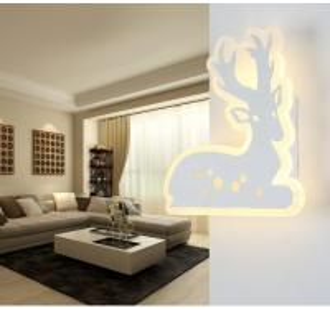 China 2D Acrylic LED wall lighting /indoor IP20 3000K led wall lights for corridor wholesale