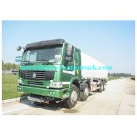 China Red 38000L Water Tanker Truck  8X4  with 380HP with warranty wholesale