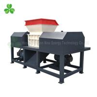 China High Output Wood Pallet Shredder Double Shaft 55Crsi Blade Material wholesale
