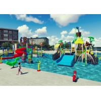 Quality Swimming Pool Project Aqua Park Design Interactive Spray Park Equipment for sale