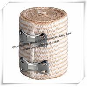 China Sterilized Soft Medical Bandage / High Stretch Compression Bandage With Clips wholesale
