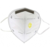 China Adult Breathable 6Ply FFP3 Face Mask With Valve wholesale