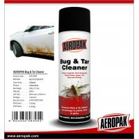China AEROPAK 500ML aerosol spray can Bug and Tar Cleaner for cleaning wholesale