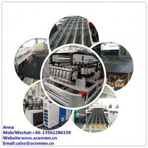 Quality PVC PMMA ASA glazed roof tile making machine glazed tile extrusion line for sale