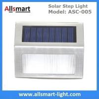 Buy cheap AAA LiFePO4 3LED Solar Step Light Solar Powered White LED Staircase Step Lights from wholesalers