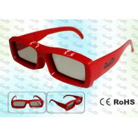 China OEM Cinema Imax Linear polarized 3D glasses wholesale