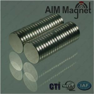 China 20mm Dimeter Neodymium Magnets wholesale