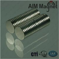 China neodymium magnets 1/2 by 1/8 disc wholesale