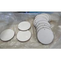 China Round Piezoelectric Ceramic Discs P8 P4 Material 43 X 2mm Good Construction wholesale