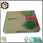 China Folding Corrugated Shipping Box; Glossy Color Printing Cardboard Shipping Box wholesale
